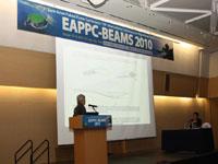 Communication au colloque international EAPPC 2010 en Corée JPP_expose-200x150