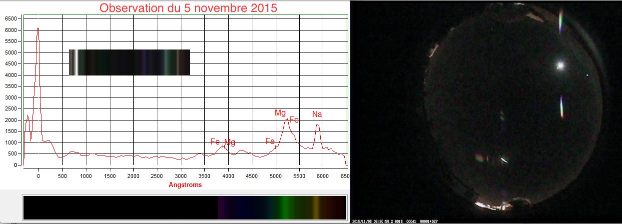 Observation 5 novembre 2015